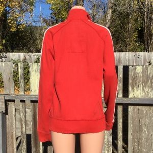 Abercrombie & Fitch Sweaters - Abercrombie & Fitch Red Muscle Sweater Jacket